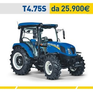 Trattore New Holland T4.75S