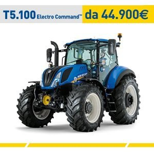 Trattore New Holland T5.100 Electro Command