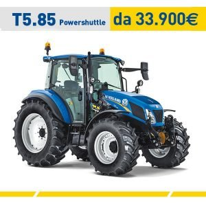 Trattore New holland T5.85 Powershuttle